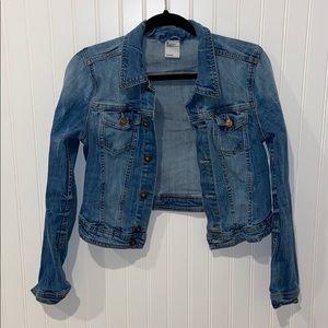 H&M Denim/Jean Jacket Women Size 40/Small